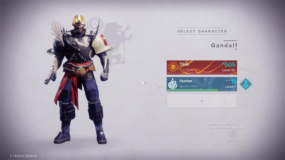 Level 30 titan gear